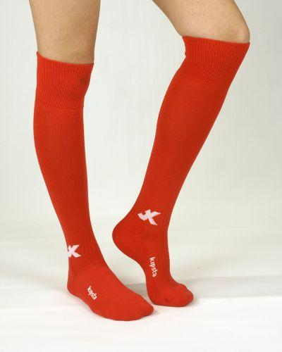 Футболни чорапи лукс, червено