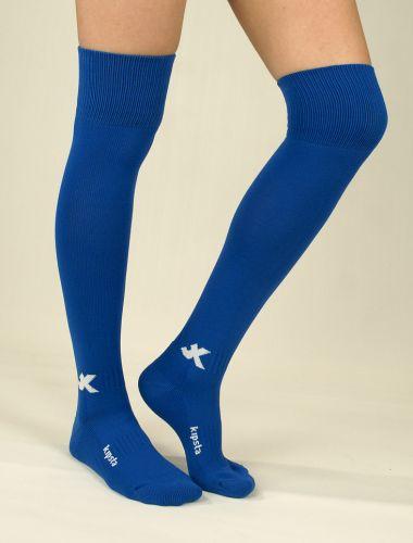 Футболни чорапи лукс, кралско синьо