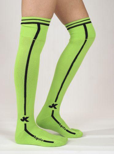 Футболни чорапи лукс, св. зелено