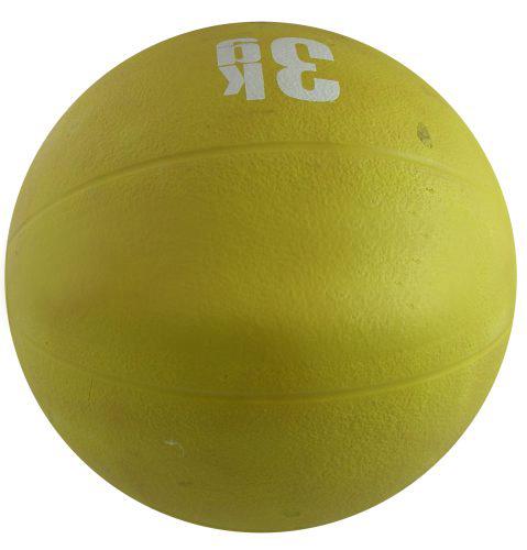 Медицинска топка 3 кг, гумена