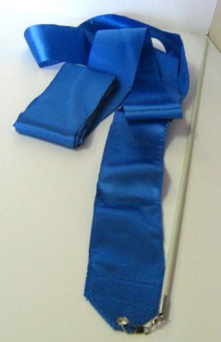 Лента за художествена гимнастика, синя
