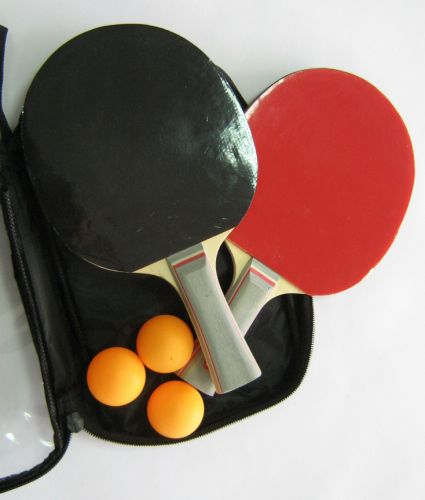 Комплект за тенис на маса 3 Stars, в калъф