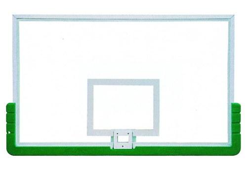 Табло за баскетбол от темперирано стъкло