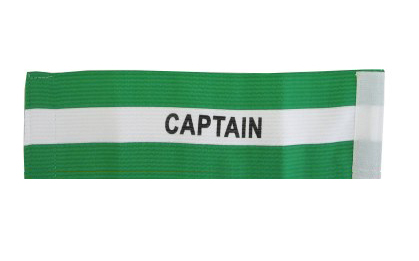 Капитанска лента Captain, зелена