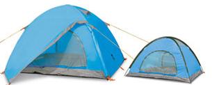 Палатка 3 + 1 места, двуслойна, 190Т