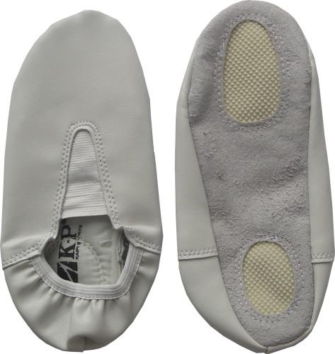 Детски гимнастически обувки, бели