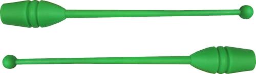 Бухалки за художествена гимнастика, зелени