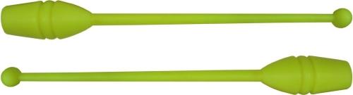 Бухалки за художествена гимнастика, жълти