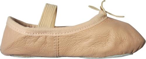 Детски балетни обувки Rose, кожени