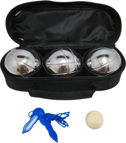 Комплект за петанк с 3 топки