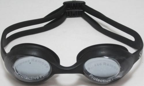Детски очила за плуване, черни