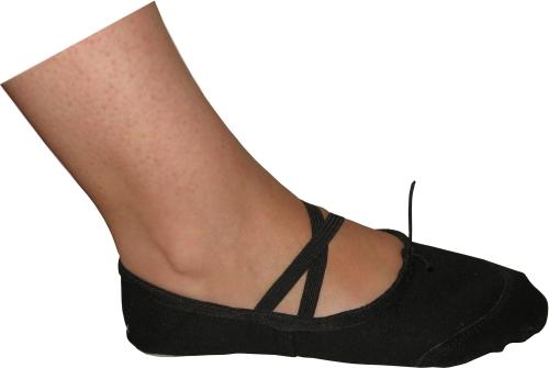 Балетни обувки Класик Черно, детски