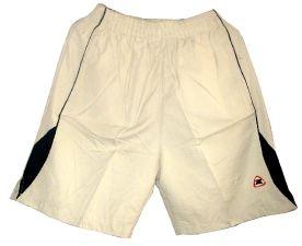 Спортни шорти с джобове, бяло