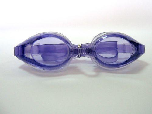 Очила за плуване Balance, лила