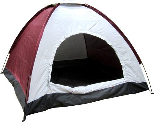 Палатка 2 + 1 места, еднослойна