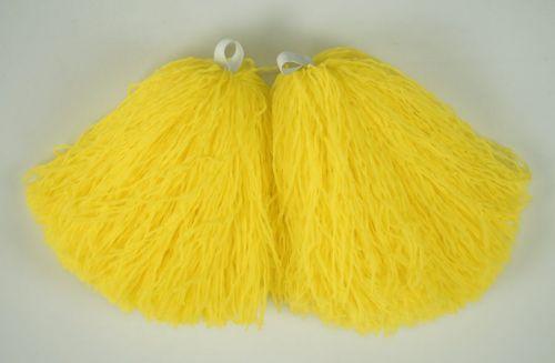 Мажоретни пухкави помпони Жълти