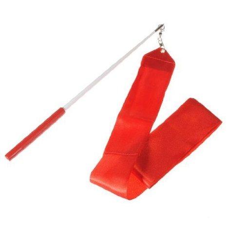 Лента за художествена гимнастика Червена, детска