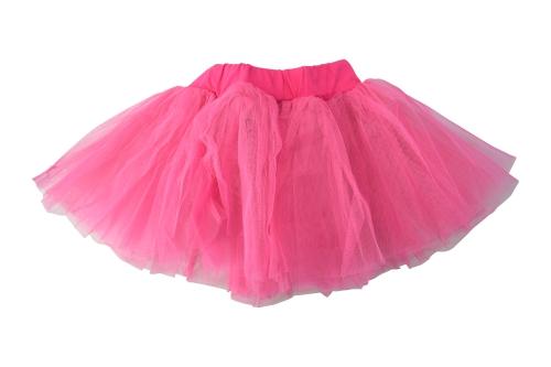 Детска балетна пола с тюл, с широк колан