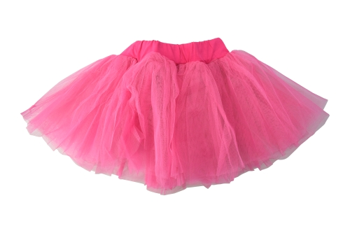 Балетна пола с тюл, с широк колан