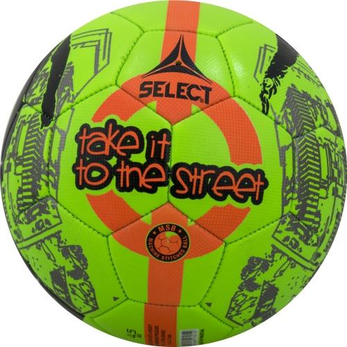 Футболна топка Select Street Soccer, зелено