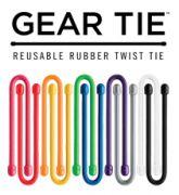 "Гумиран органайзер Gear Tie® 6"""