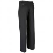 Спортен прав панталон, черен