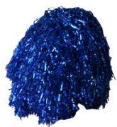 Мажоретни лъскави помпони Сини, 200 г