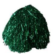 Мажоретни лъскави помпони Зелени, 200 г