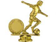 Фигура Футболист с емблемка