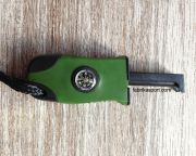 Магнезиева запалка с компас и свирка