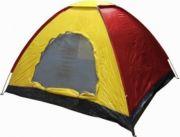 Палатка 4 + 1 места, еднослойна