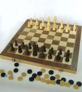 Игрален комплект Дама, Шах&Табла, 48 см