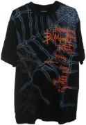 Памучна фланелка Net, черно