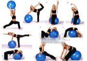 Швейцарска топка с масажни бодлички, 60 см