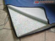 Гимнастически дюшек 200/100/5 см, еко-кожа и пресован дунапрен 90