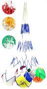 Мрежа за топки, два цвята