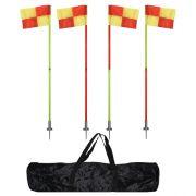 Корнер - флагчета, комплект 4 с чанта