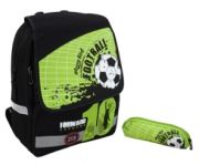 Раница с несесер Glossy Bird Футбол, зелено