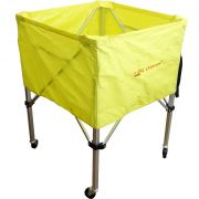 Сгъваема количка-кош за топки, олекотена