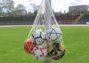 Мрежа за топки, бяла
