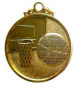 Медал Баскетбол, с трикольор