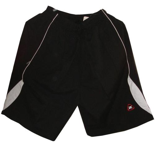 Спортни шорти с джобове, черно