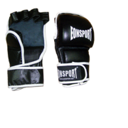 Ръкавици MMA за тренировки, с бял акцент