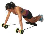 Мултифункционален уред за фитнес, с колела