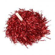 Мажоретни лъскави помпони Червени, 200 г