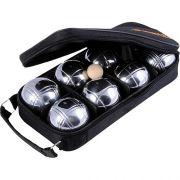 Професионален комплект за петанк с 8 топки