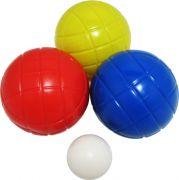 Комплект за петанк с 6 топки
