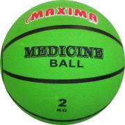 Медицинска топка 2 кг, гумена